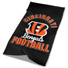 Load image into Gallery viewer, Bengals Football Team Multi-Functional Seamiess Rave Mask Bandana-Heroinhere
