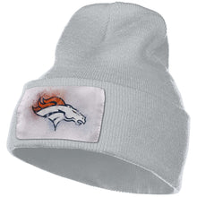 Load image into Gallery viewer, Broncos Logo Knit Hat Cap-Heroinhere