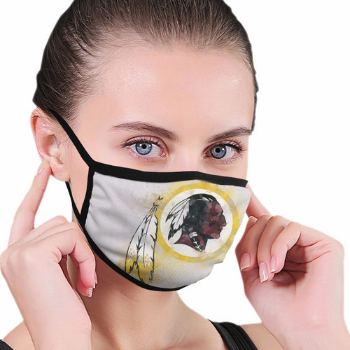 Redskins Logo Anti-infective Polyester Face Mask-Heroinhere