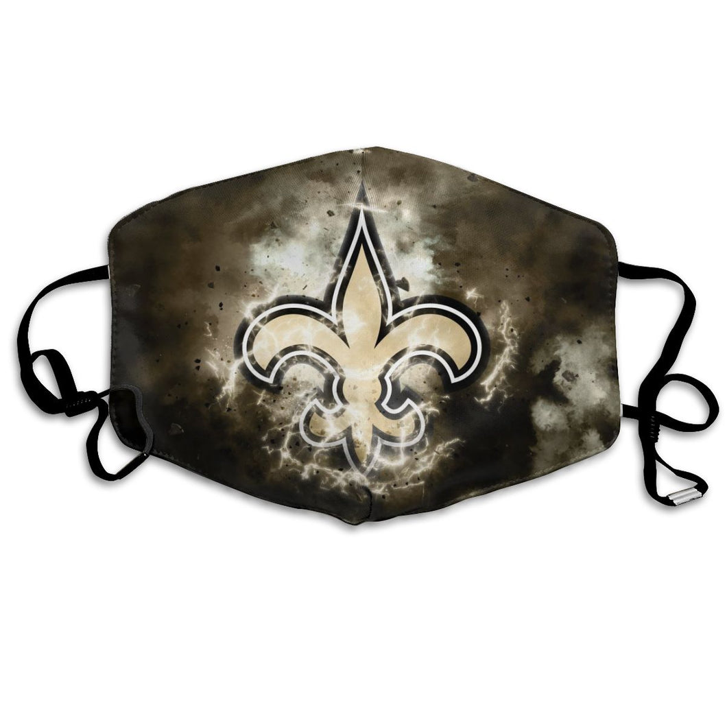 Saints Illustration Art Anti-infective Polyester Face Mask-Heroinhere