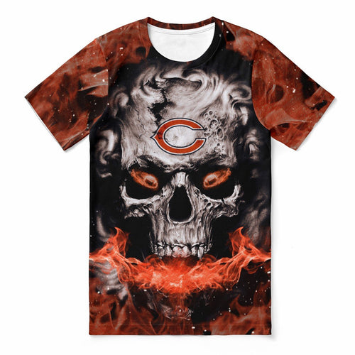 Bears 3D Skull T-shirts For Women-Heroinhere