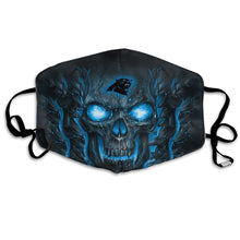 Load image into Gallery viewer, QIANOU66 Skull Lava Panthers Anti-infective Polyester Face Mask-Heroinhere