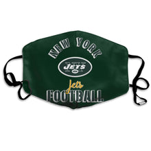 Load image into Gallery viewer, Jets Football Team Anti-infective Polyester Face Mask-Heroinhere