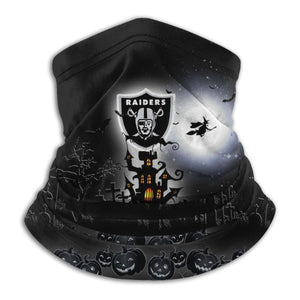 Raiders Football Team Halloween Seamless Face Mask Bandanas-Heroinhere