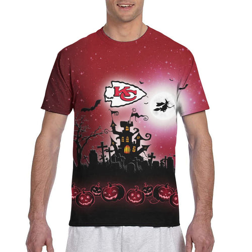 Chiefs Football Team Halloween T Shirts-Heroinhere