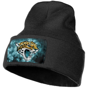Jaguars Illustration Art Knit Hat Cap-Heroinhere