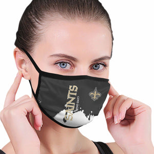 Saints Team Anti-infective Polyester Face Mask-Heroinhere