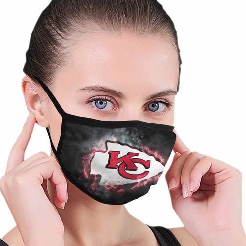 Chiefs Illustration Art Anti-infective Polyester Face Mask-Heroinhere