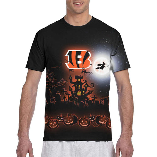 Bengals Football Team Halloween T Shirts-Heroinhere