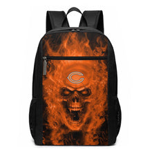 Load image into Gallery viewer, 3D Skull Bears Travel Laptop Backpack 17 IN-Heroinhere