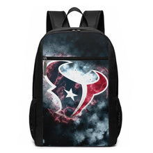 Load image into Gallery viewer, Texans Illustration Art Travel Laptop Backpack 17 IN-Heroinhere