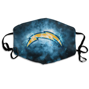 Chargers Illustration Art Anti-infective Polyester Face Mask-Heroinhere