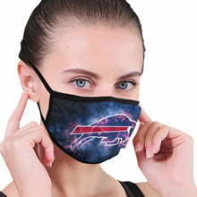 Load image into Gallery viewer, Bills Illustration Art Anti-infective Polyester Face Mask-Heroinhere