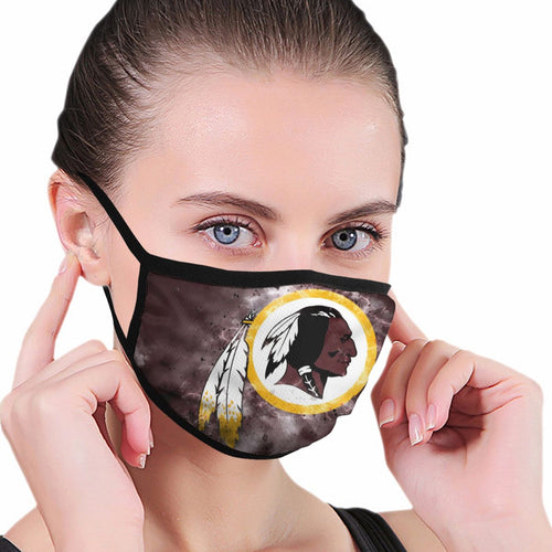 Redskins Illustration Art Anti-infective Polyester Face Mask-Heroinhere