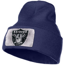 Load image into Gallery viewer, Raiders Logo Knit Hat Cap-Heroinhere