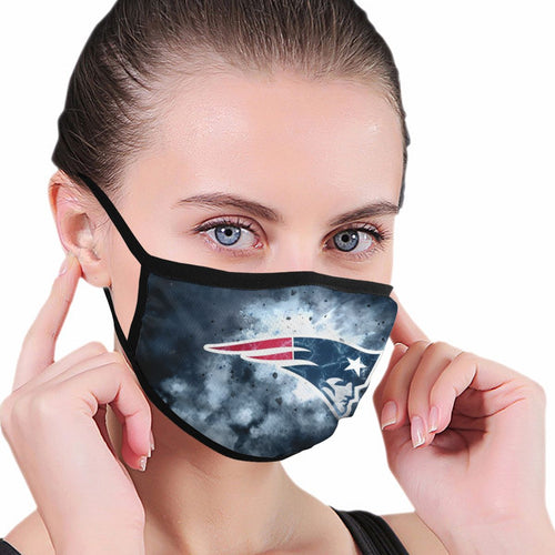 Patriots Illustration Art Anti-infective Polyester Face Mask-Heroinhere
