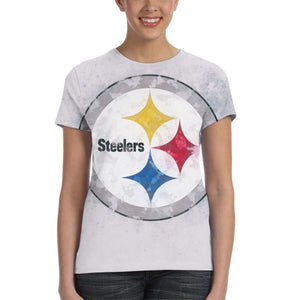 Steelers Logo T Shirts For Women-Heroinhere