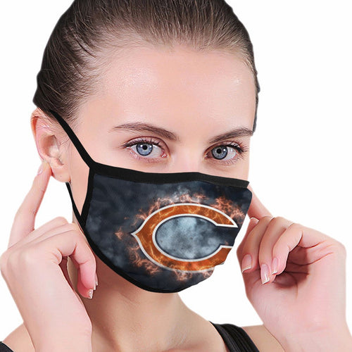 Bears Illustration Art Anti-infective Polyester Face Mask-Heroinhere