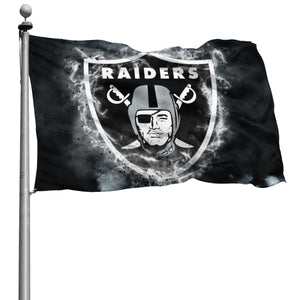 Raiders Illustration Art Flag 4*6 ft-Heroinhere