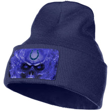Load image into Gallery viewer, 3D Skull Colts Knit Hat Cap-Heroinhere