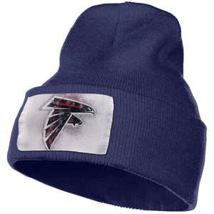 Falcons Logo Knit Hat Cap-Heroinhere