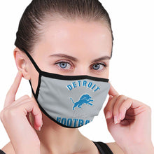 Load image into Gallery viewer, Lions Football Team Anti-infective Polyester Face Mask-Heroinhere