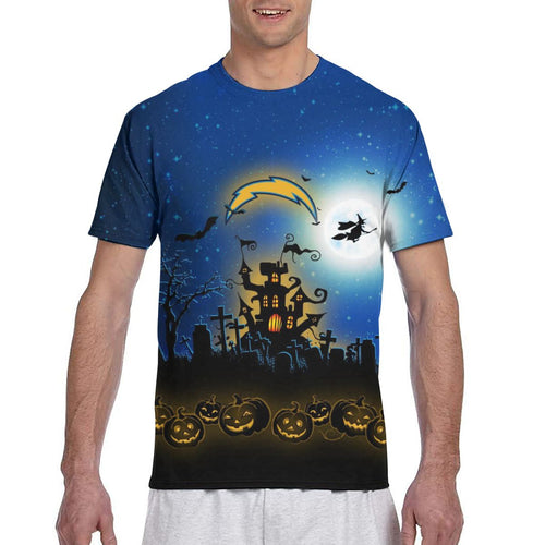 Chargers Football Team Halloween T Shirts-Heroinhere
