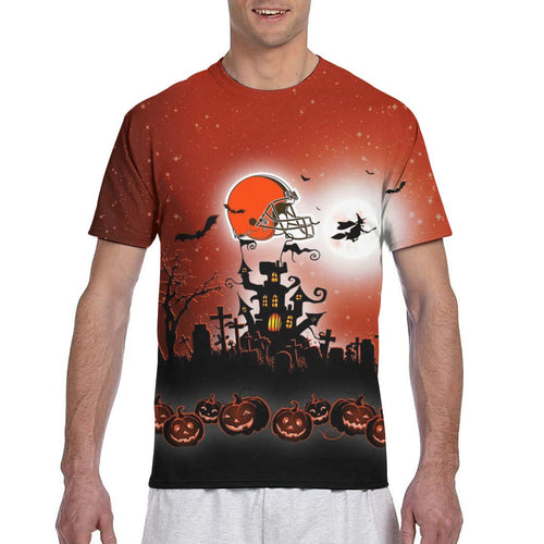 Browns Football Team Halloween T Shirts-Heroinhere
