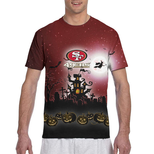49ers Football Team Halloween T Shirts-Heroinhere