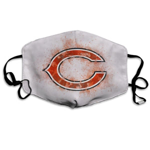 Bears Logo Anti-infective Polyester Face Mask-Heroinhere