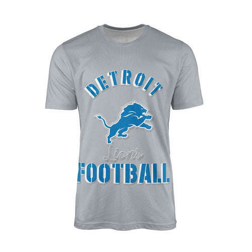 Lions Team T-shirts For Men-Heroinhere