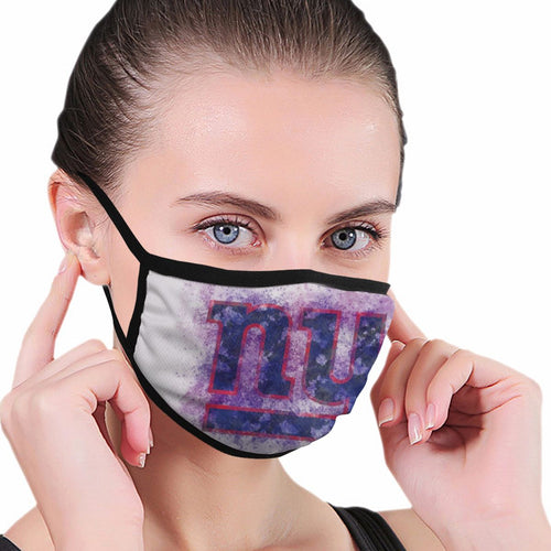 Giants Logo Anti-infective Polyester Face Mask-Heroinhere