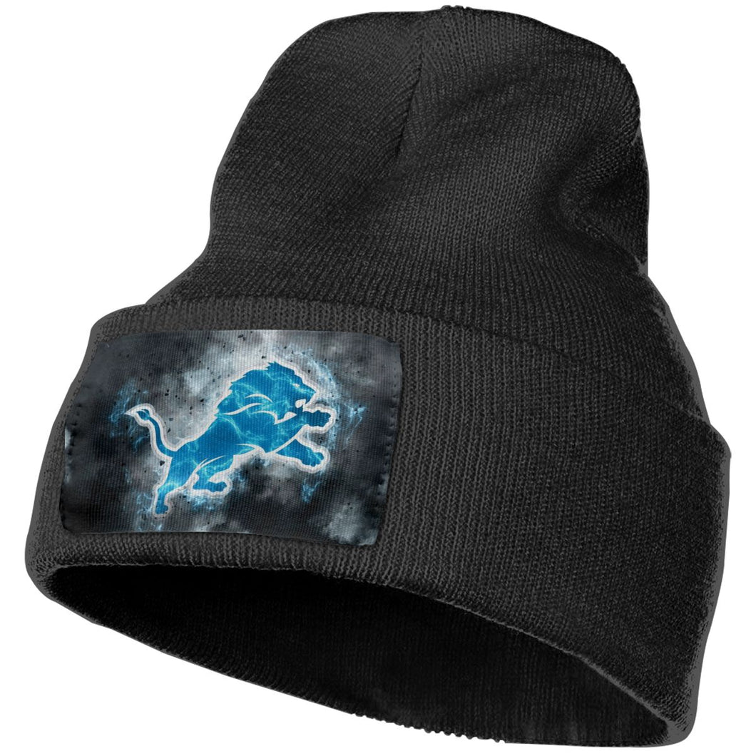 Lions Illustration Art Knit Hat Cap-Heroinhere