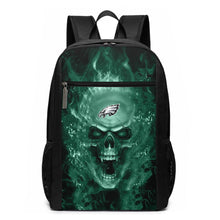 Load image into Gallery viewer, 3D Skull Eagles Travel Laptop Backpack 17 IN-Heroinhere