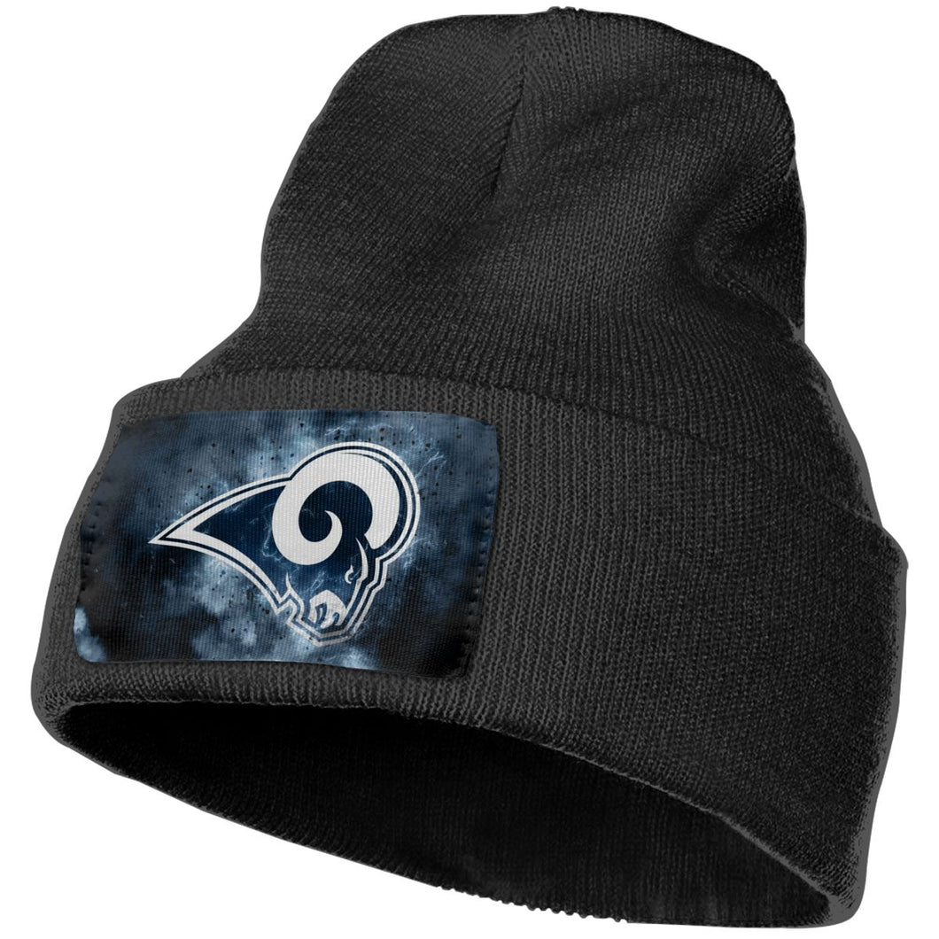Rams Illustration Art Knit Hat Cap-Heroinhere
