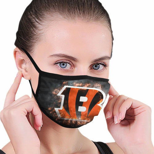 Bengals Illustration Art Anti-infective Polyester Face Mask-Heroinhere