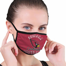 Load image into Gallery viewer, Cardinals Football Team Anti-infective Polyester Face Mask-Heroinhere