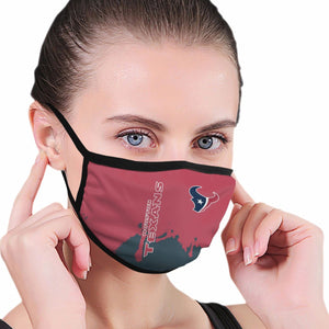 Texans Team Anti-infective Polyester Face Mask-Heroinhere