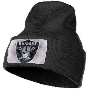 Raiders Logo Knit Hat Cap-Heroinhere
