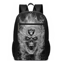 Load image into Gallery viewer, 3D Skull Raiders Travel Laptop Backpack 17 IN-Heroinhere