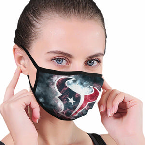 Texans Illustration Art Anti-infective Polyester Face Mask-Heroinhere