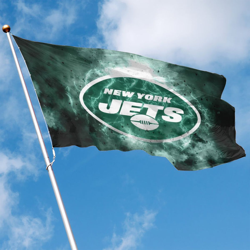 Jets Illustration Art Flag 3*5 ft-Heroinhere