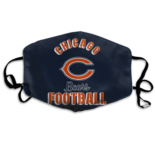 Bears Football Team Anti-infective Polyester Face Mask-Heroinhere