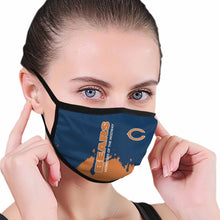 Load image into Gallery viewer, Bears Team Anti-infective Polyester Face Mask-Heroinhere