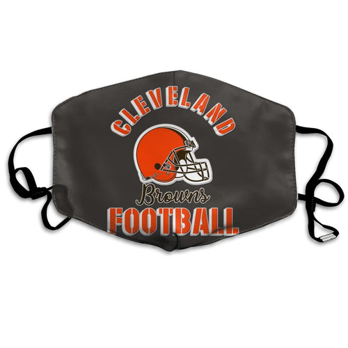 Browns Football Team Anti-infective Polyester Face Mask-Heroinhere