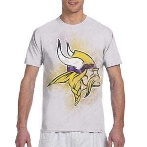 Vikings Logo T Shirts For Men-Heroinhere