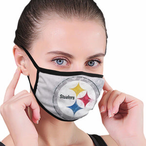 Steelers Logo Anti-infective Polyester Face Mask-Heroinhere