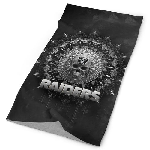 Raiders Multi-Functional Seamiess Rave Mask Bandana-Heroinhere