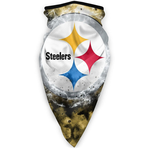 Steelers Illustration Art Obacle Seamless Bandana Rave Face Mask-Heroinhere