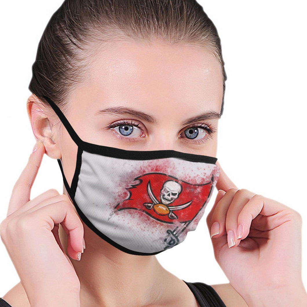 Buccaneers Logo Anti-infective Polyester Face Mask-Heroinhere